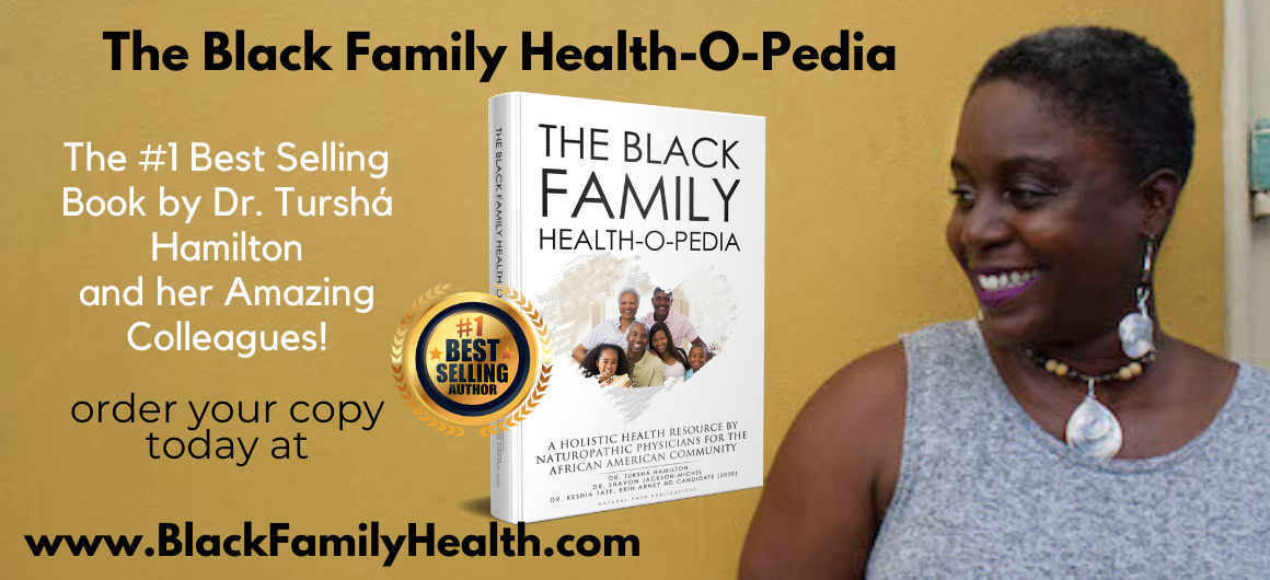 Order your copy of The Black Family Health-O-Pedia TODAY! www.BlackFamilyHealth.com